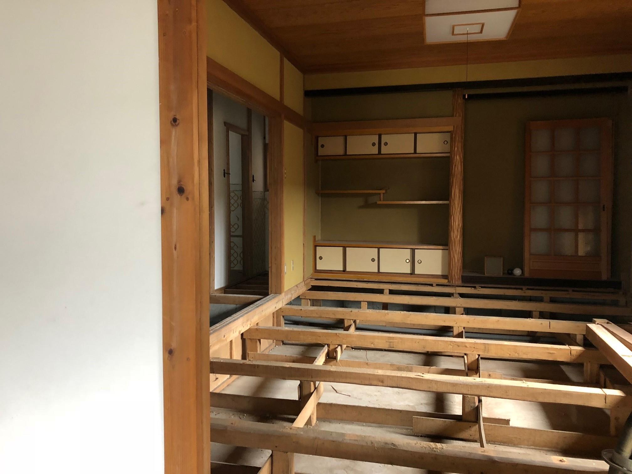 肥前浜宿ゲストハウス工事